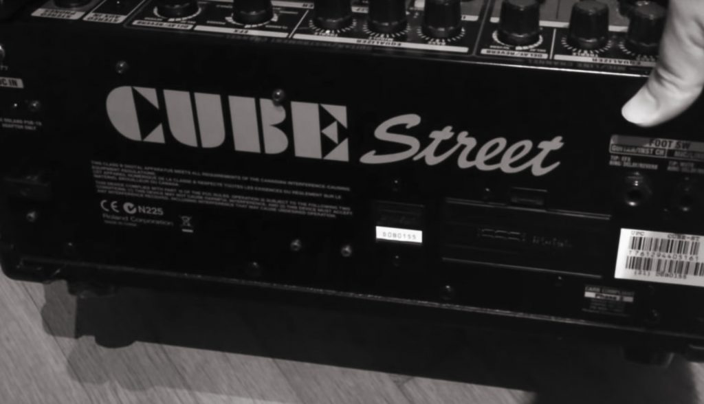 Roland Cube Street – the Perfect Portable Guitar Amp