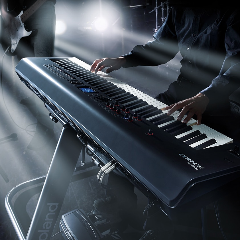 Command The Stage With The Roland Rd 800 Stage Piano Roland