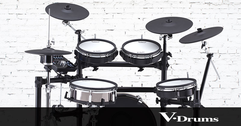 How to trigger Loops and WAV samples from v-drums