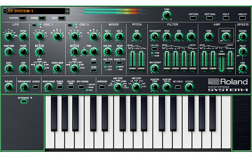 System-1 Plug Out Synth