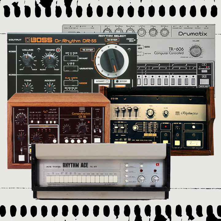 Roland Drum Machine Chronicle: 1964 - 2016 - Roland