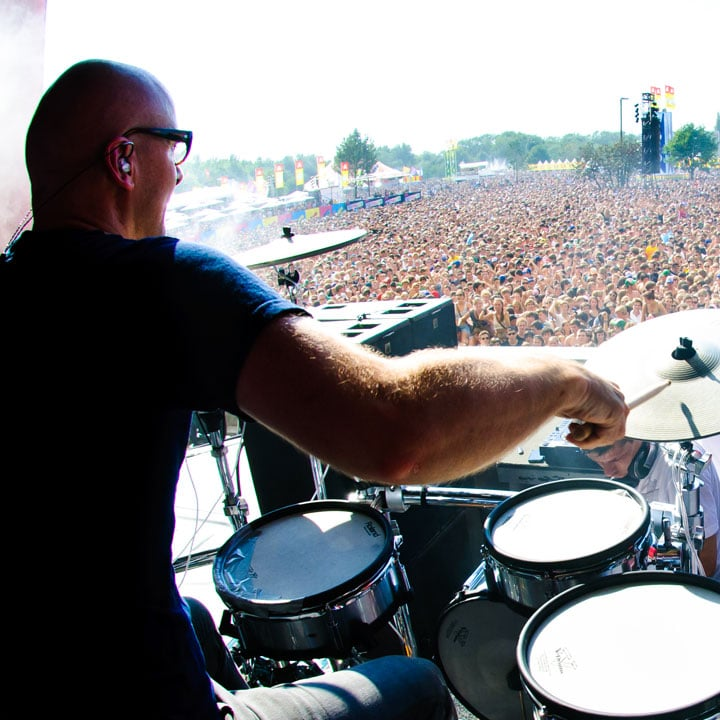 Performing live with V-Drums