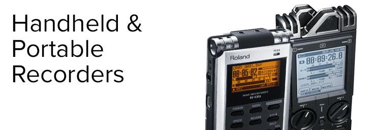 Handheld & Portable Recorders