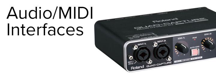 Audio MIDI Interfaces