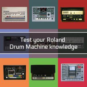 Roland Drum Machine Quiz