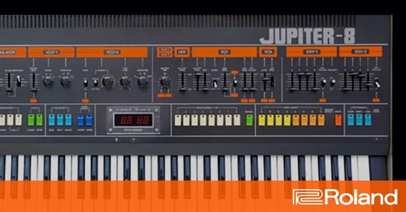 Roland Jupiter 6 For Sale
