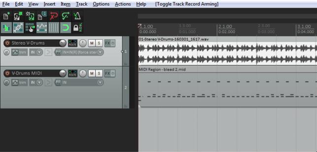TD-4KP Recording