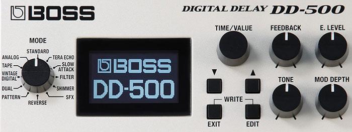 DD-500 Top Panel