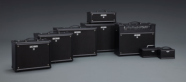 BOSS KATANA series guitar amps
