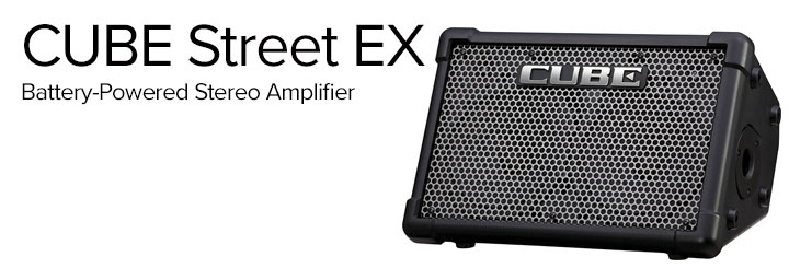 CUBE Street EX Battery-Powered Stereo Amplifier