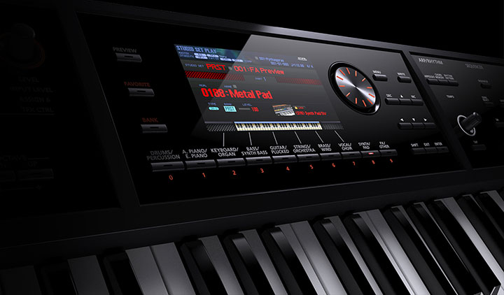 Roland FA Series Synth