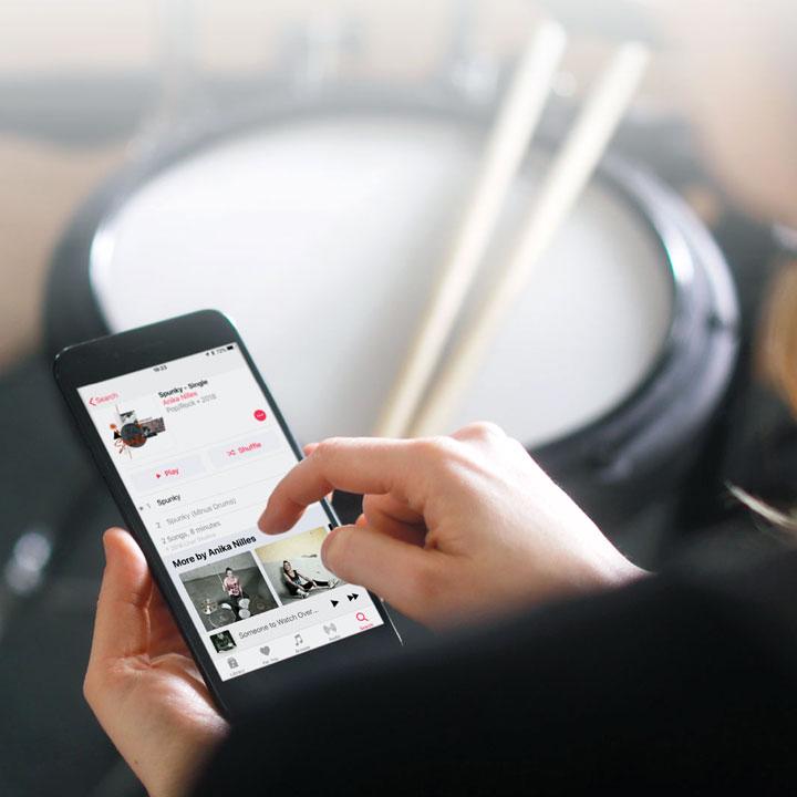 TD-17 V-Drums Bluetooth