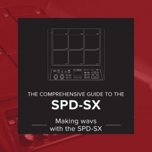 making wavs with the SPD-SX