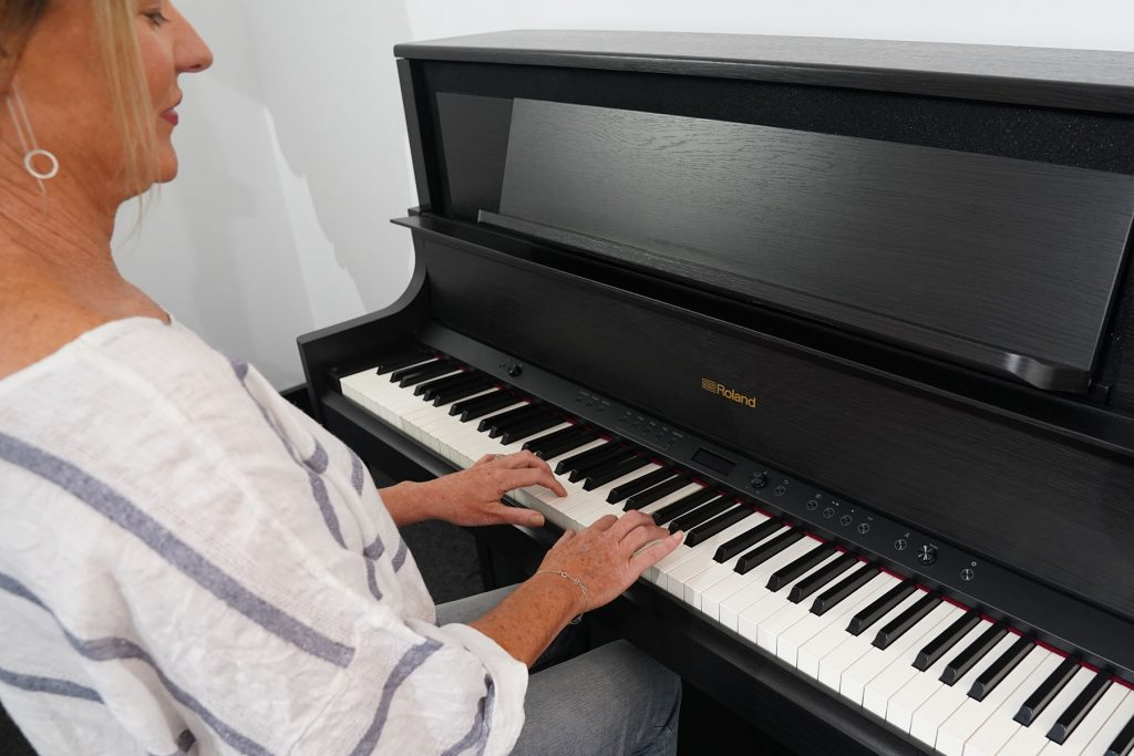 playing piano as an adult
