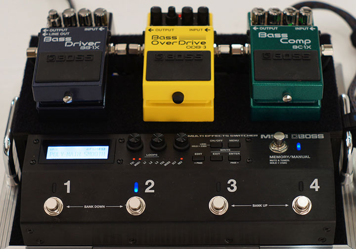MS-3 with Compact Pedals