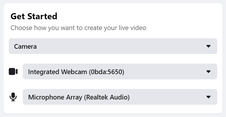 VR Series: How to Stream to Facebook Directly
