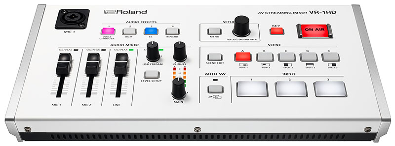 VR-1HD Streaming Mixer