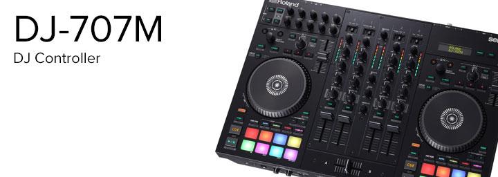 DJ-707M DJ Controller
