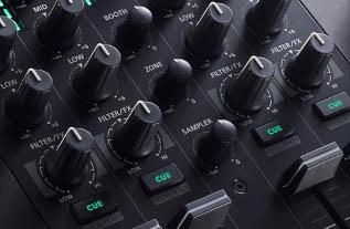 Control FX on the DJ-707M