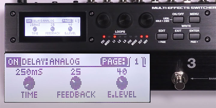 MS-3 Editing Effects