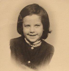 Jessica Roemischer as a child