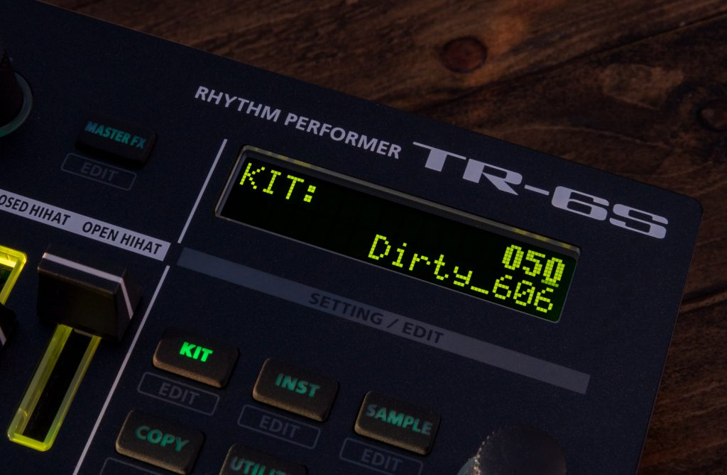 TR-6S drum kit