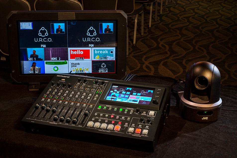 the perfect vision switcher for hybrid events