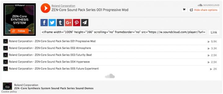 Jupiter Guide SoundCloud